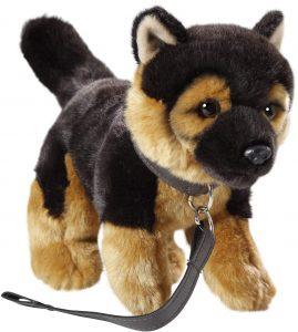 Peluche de Pastor Alemán de Carl Dick de 21 cm - Los mejores peluches de pastores alemanes - Peluches de perros