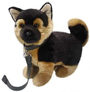 Peluche de Pastor Alemán de Carl Dick de 22 cm - Los mejores peluches de pastores alemanes - Peluches de perros