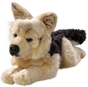 Peluche de Pastor Alemán de Carl Dick de 30 cm - Los mejores peluches de pastores alemanes - Peluches de perros