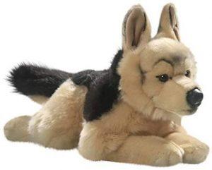 Peluche de Pastor Alemán de Carl Dick de 40 cm - Los mejores peluches de pastores alemanes - Peluches de perros