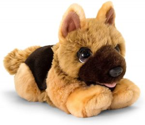 Peluche de Pastor Alemán de Keel Toys de 47 cm - Los mejores peluches de pastores alemanes - Peluches de perros