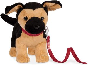 Peluche de Pastor Alemán de Our Generation de 53 cm - Los mejores peluches de pastores alemanes - Peluches de perros