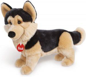 Peluche de Pastor Alemán de Trudi de 35 cm - Los mejores peluches de pastores alemanes - Peluches de perros