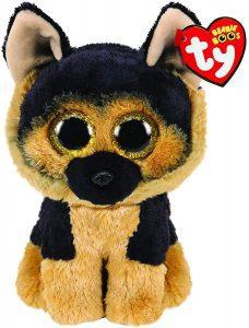 Peluche de Pastor Alemán de Ty de 15 cm - Los mejores peluches de pastores alemanes - Peluches de perros