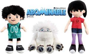 Peluche de Peng 20 cm, Everest 18 cm y Yi 22 cm de Abominable - Los mejores peluches de Abominable - Peluches de personajes de Everest de Abominable