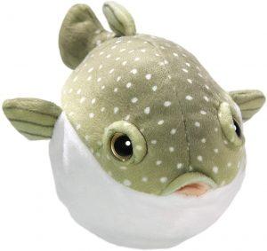 Peluche de Pez Globo de 18 cm de Carl Dick - Los mejores peluches de peces globo - Peluches de animales