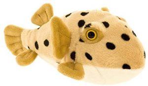 Peluche de Pez Globo de 27 cm de Wild Planet - Los mejores peluches de peces globo - Peluches de animales