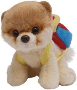 Peluche de Pomerania de Enesco de 12 cm - Los mejores peluches de pomeranias - Peluches de perros