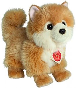 Peluche de Pomerania de Hermann Teddy de 22 cm - Los mejores peluches de pomeranias - Peluches de perros