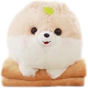 Peluche de Pomerania de Lanfire de 40 cm - Los mejores peluches de pomeranias - Peluches de perros
