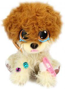 Peluche de Pomerania de Rescue Runts de 22 cm - Los mejores peluches de pomeranias - Peluches de perros