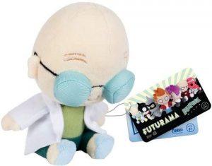 Peluche de Profesor Farnsworth de 15 cm de FUNKO - Los mejores peluches de Futurama - Peluches de personajes de Futurama