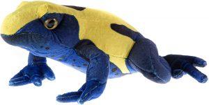 Peluche de Rana azul de Wild Republic de 30 cm - Los mejores peluches de ranas - Peluches de animales