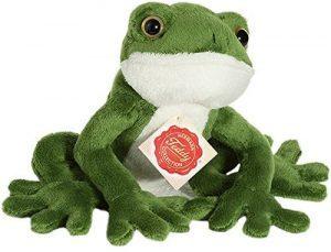 Peluche de Rana de Hermannn Teddy de 15 cm - Los mejores peluches de ranas - Peluches de animales