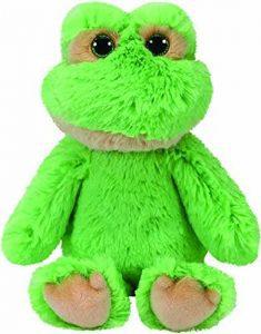 Peluche de Rana de Ty de 23 cm - Los mejores peluches de ranas - Peluches de animales
