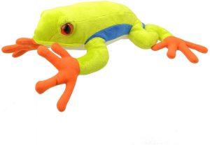 Peluche de Rana de Wild Planet de 30 cm - Los mejores peluches de ranas - Peluches de animales