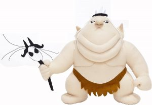 Peluche de Rey Goblin de 22 cm - Los mejores peluches del Señor de los Anillos - Peluches de personajes de ESDLA