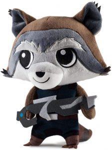 Peluche de Rocket Racoon de 20 cm - Los mejores peluches de Rocket Racoon de los Guardianes de la Galaxia - Peluches de superhéroes de Marvel