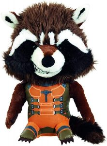 Peluche de Rocket Racoon de 23 cm - Los mejores peluches de Rocket Racoon de los Guardianes de la Galaxia - Peluches de superhéroes de Marvel