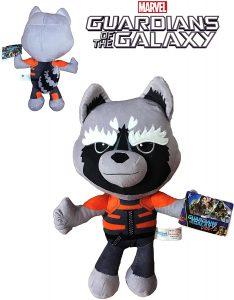 Peluche de Rocket Racoon de 30 cm - Los mejores peluches de Rocket Racoon de los Guardianes de la Galaxia - Peluches de superhéroes de Marvel