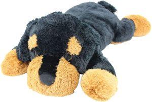 Peluche de Rottweiler de Sweety Toys de 80 cm - Los mejores peluches de rottweilers - Peluches de perros