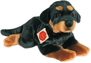 Peluche de Rottweiler de Teddy Hermann de 40 cm - Los mejores peluches de rottweilers - Peluches de perros