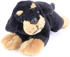 Peluche de Rottweiler de Toyland de 32 cm - Los mejores peluches de rottweilers - Peluches de perros