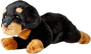 Peluche de Rottweiler de Yomiko de 36 cm - Los mejores peluches de rottweilers - Peluches de perros