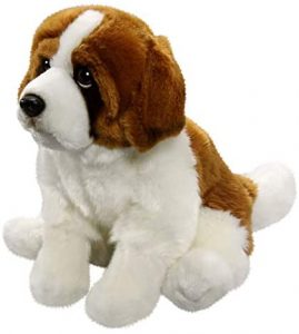 Peluche de San Bernardo de Carl Dick de 30 cm - Los mejores peluches de san bernardos - Peluches de perros