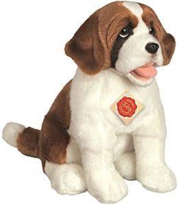 Peluche de San Bernardo de Hermann Teddy de 33 cm - Los mejores peluches de san bernardos - Peluches de perros
