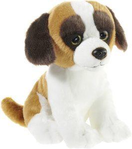 Peluche de San Bernardo de Heunec de 18 cm - Los mejores peluches de san bernardos - Peluches de perros