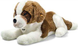 Peluche de San Bernardo de Steiff de 35 cm - Los mejores peluches de san bernardos - Peluches de perros