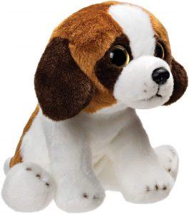 Peluche de San Bernardo de Suki Gifts de 13 cm - Los mejores peluches de san bernardos - Peluches de perros