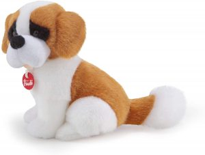 Peluche de San Bernardo de Trudi de 20 cm - Los mejores peluches de san bernardos - Peluches de perros