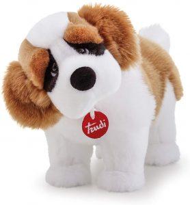 Peluche de San Bernardo de Trudi de 39 cm - Los mejores peluches de san bernardos - Peluches de perros