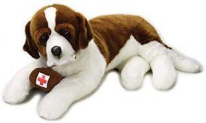Peluche de San Bernardo de Venturelli de 95 cm - Los mejores peluches de san bernardos - Peluches de perros