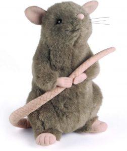 Peluche de Scabbers de 28 cm de Harry Potter - Los mejores peluches de ratón - Peluches de Harry Potter