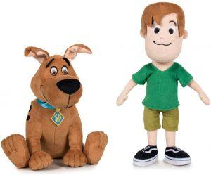 Peluche de Shaggy y Scooby Doo joven de 28 cm - Los mejores peluches de Scooby Doo - Peluches de Scooby Doo