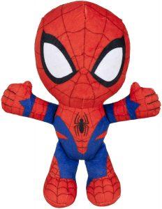 Peluche de Spiderman de 19 cm de Famosa - Los mejores peluches de Spider-man - Peluches de superhéroes de Marvel
