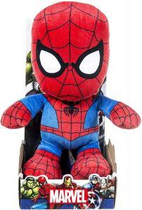 Peluche de Spiderman de 25 cm clásico - Los mejores peluches de Spider-man - Peluches de superhéroes de Marvel