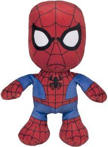 Peluche de Spiderman de 30 cm de Famosa - Los mejores peluches de Spider-man - Peluches de superhéroes de Marvel