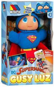 Peluche de Superman de Gusy Luz - Los mejores peluches de Superman - Peluches de superhéroes de DC