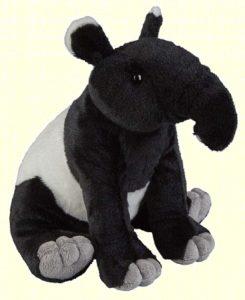 Peluche de Tapir de Ravensden de 24 cm - Los mejores peluches de tapires - Peluches de animales