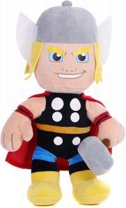 Peluche de Thor clásico de 25 cm de Disney Marvel Superhero - Los mejores peluches de Thor - Peluches de superhéroes de Marvel