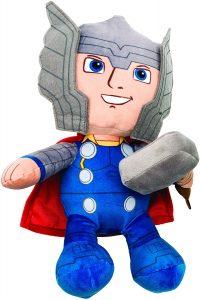 Peluche de Thor con martillo de 25 cm de Marvel - Los mejores peluches de Thor - Peluches de superhéroes de Marvel