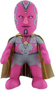 Peluche de Visión de 25 cm - Los mejores peluches de Visión - Peluches de superhéroes de Marvel