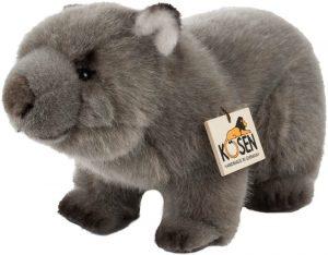 Peluche de Wombat de Bass Et Bass de 24 cm - Los mejores peluches de wombats - Peluches de animales
