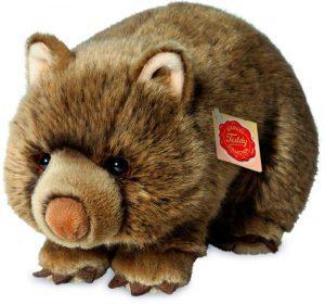 Peluche de Wombat de Teddy Hermann de 26 cm - Los mejores peluches de wombats - Peluches de animales