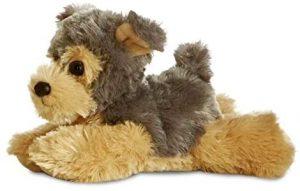 Peluche de Yorkshire Terrier de Aurora de 24 cm - Los mejores peluches de yorkshires - Peluches de perros