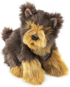Peluche de Yorkshire Terrier de Folkmanis de 17 cm - Los mejores peluches de yorkshires - Peluches de perros